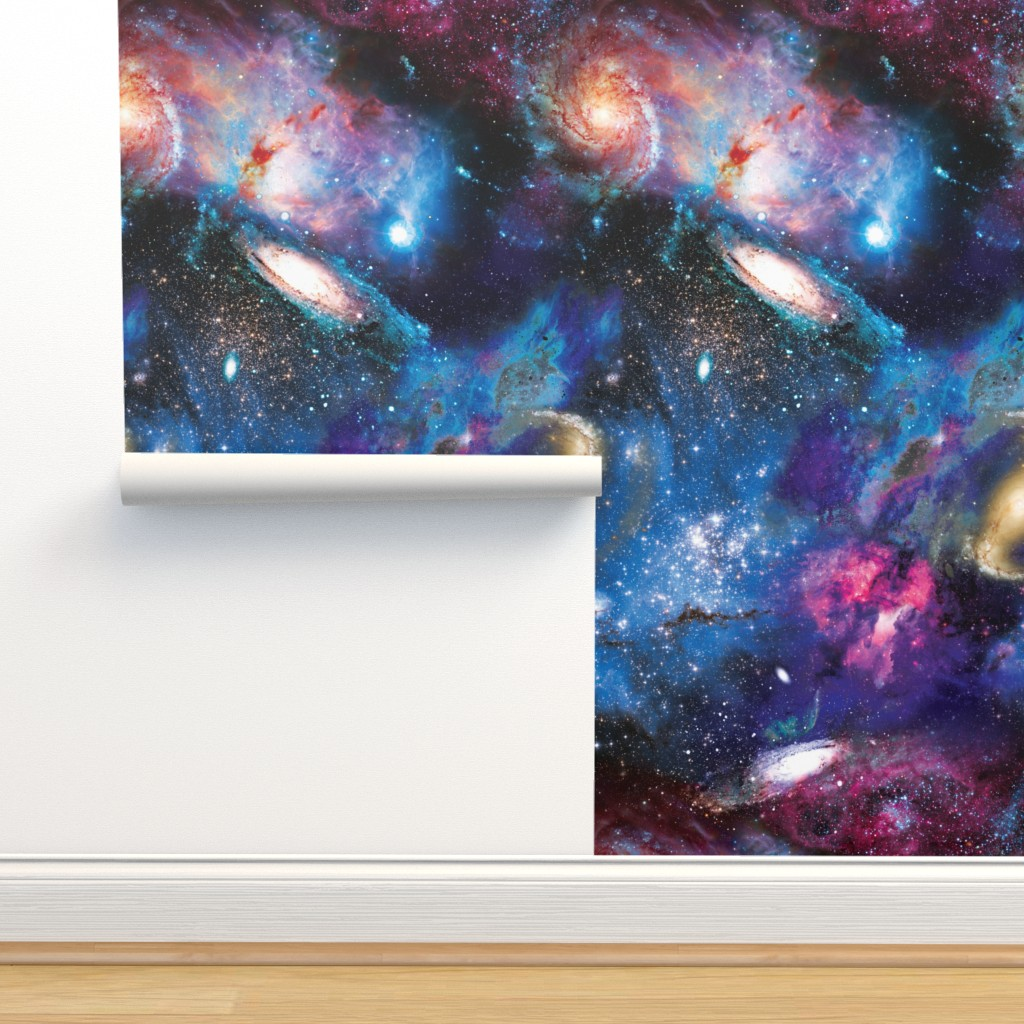Isobar Durable Wallpaper featuring Galactic Dreams by xoxotique