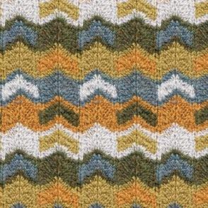 Flying V's Knit