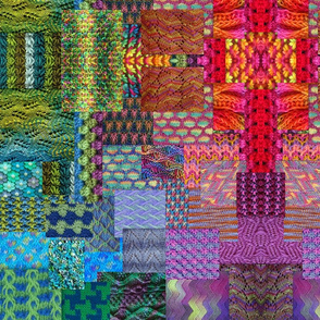 Knitting__rainbows