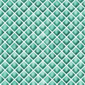 Teal Diamonds - Sakizou Leggings