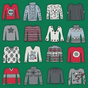 Christmas Jumpers (xmas knit coordinate)