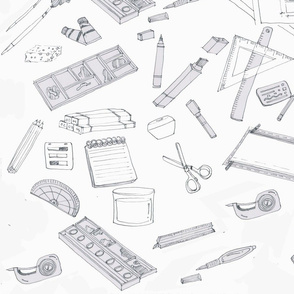 Sketching and Design Tools in Ink Black and White