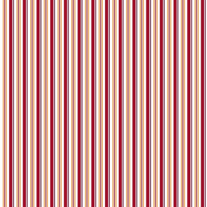 Winter is Here Wine Gold Stripes