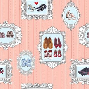 my family in shoes