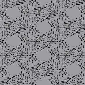 Ink Stroke (Black on Gray)