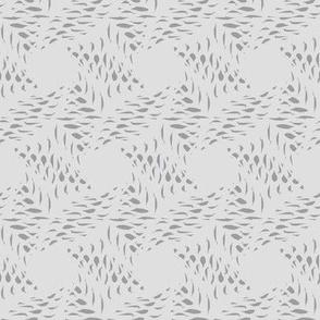 Ink Weave (Gray on Bone)