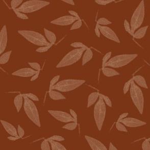 Leaves on Rust