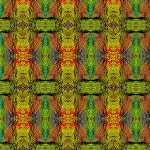 Kiwi Crinkle fabric