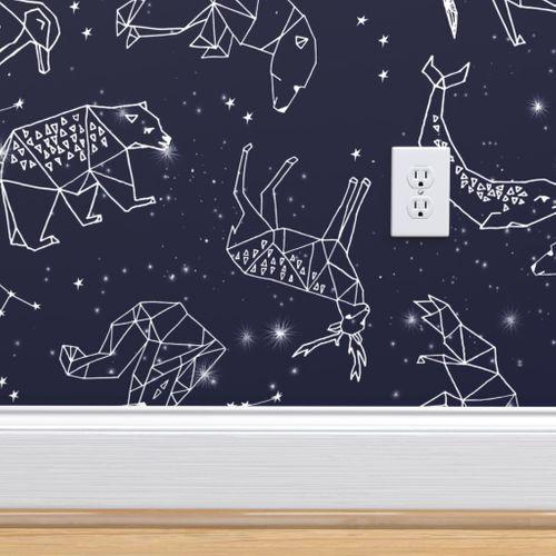 Constellations Origami Geometric