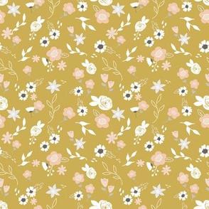 Little blooms golden