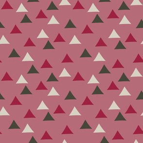 Tent Triangles Pink (Summer)
