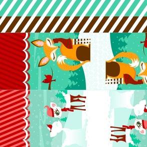 Fox & Deer DIY Holiday Gift Bags
