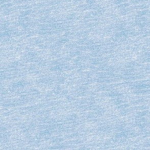 crayon texture in forget-me-not blue