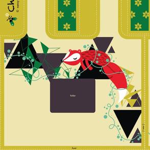 Christmas Gift Folding Bag