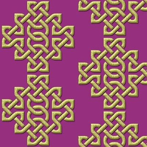 Celtic Knots in Knots - purple