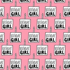 """Birthday Girl Pink - 1"""""""