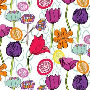 Funky Tulips