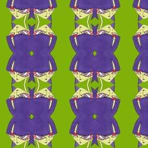 Ingrid on green
