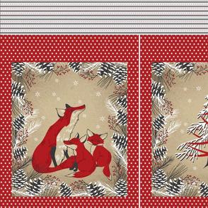 Fox Family Gift Bag