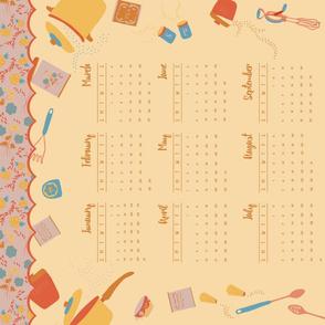 2016 Kitchen Calendar - Capri
