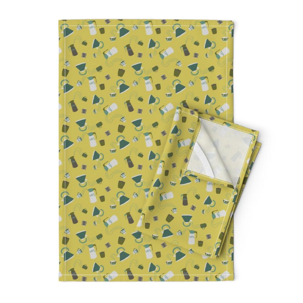 Orpington Tea Towels featuring Hot Stuff - Skylark by abbyhersey