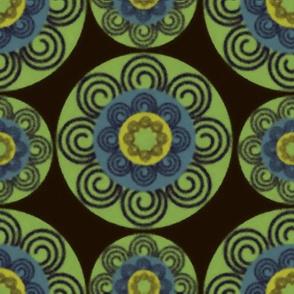 70's kitchen pattern