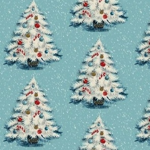 Retro Christmas Tree - A vintage style Yuletide design