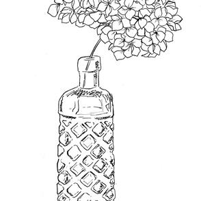 White Hydrangea