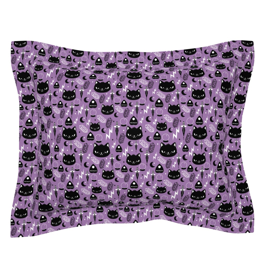 Sebright Pillow Sham featuring Cat Magic by emandsprout