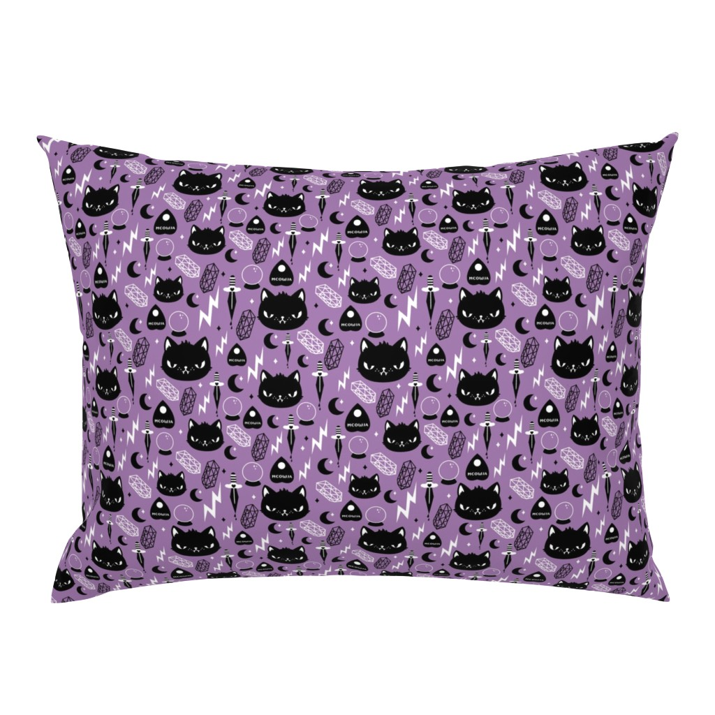 Campine Pillow Sham featuring Cat Magic by emandsprout