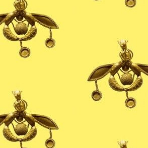 Minoan Bees Yellow