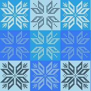 Scandinavian Plaid (Blue)