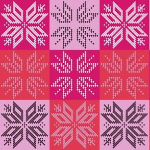 Scandinavian Plaid (Pink)