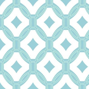 diamonds and rings - blue mint