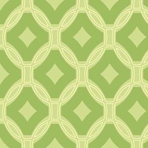diamonds and rings - green tea