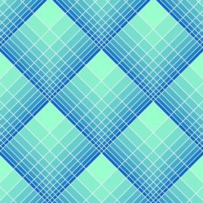 loglog graph X plaid : blue