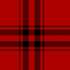 Red and Black Tartan