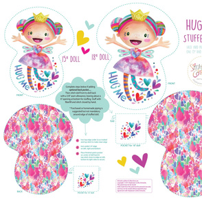 Hug Me-Stuffie by Stephanie Corfee