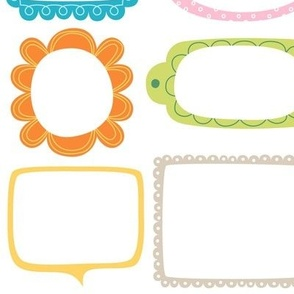 bloomified frames large colorful