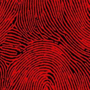 Red & Black Fingerprints