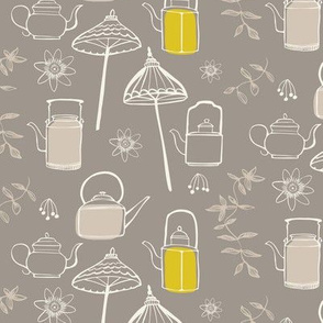 Chinoiserie Chic Tea Time