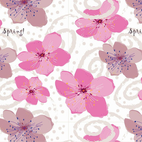 Peach Blossom Swirl Mini