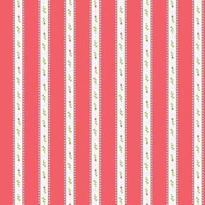 Red Summer Rose Stripe