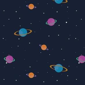 hi little universe navy colorway