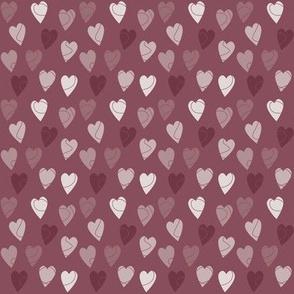 Linehearts RoseGrey