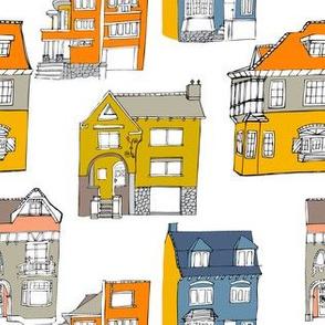 Houses white