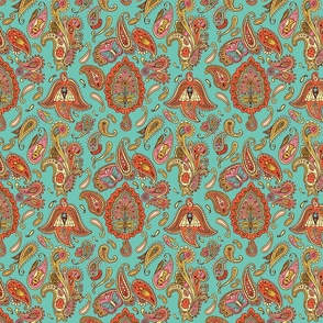 insect paisley