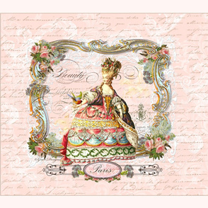 Marie Antoinette French Script Writing