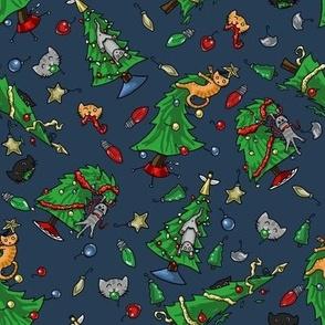 Cats Vs Christmas Trees