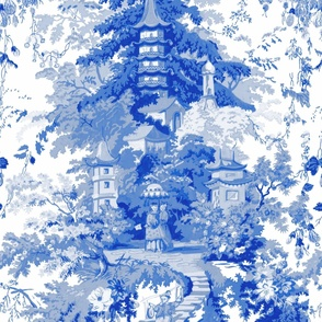 Chinoiserie Palace ~ Willow Blue and White